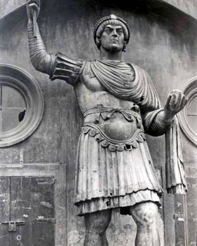 diocletian statue