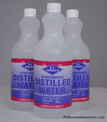 distilled water products