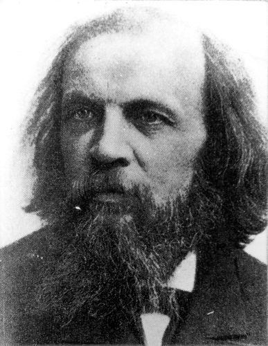 dmitri mendeleev chemist
