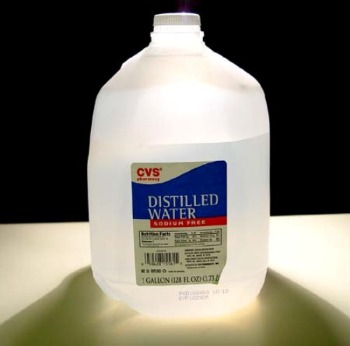 facts about distilled water