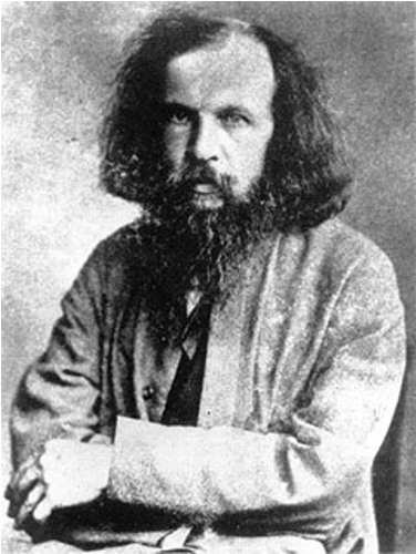 facts about dmitri mendeleev