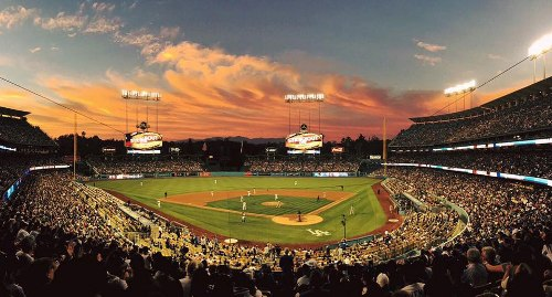 dodger stadium facts
