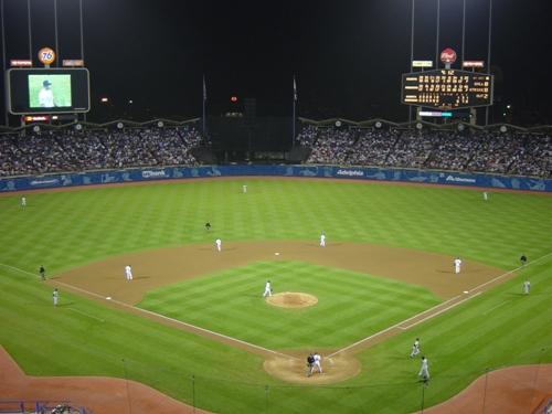 dodger stadium images