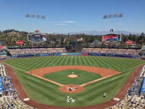 dodger stadium pictures