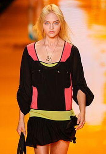 donna karans model