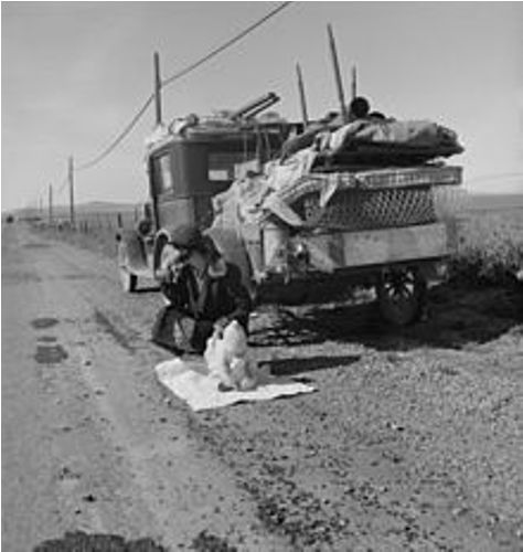 dorothea lange facts