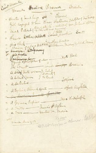 dracula notes