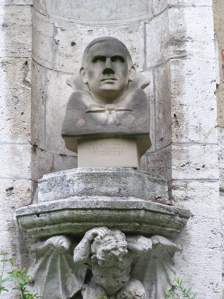Statue of Bela Lugosi