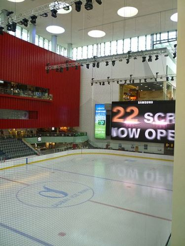 Dubai Mall Icerink