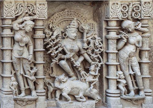 Durga Sclupture