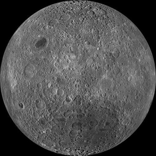 Earth's Moon Texture