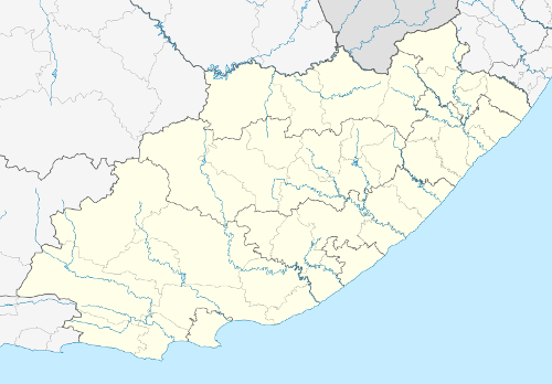 East London South Africa Map