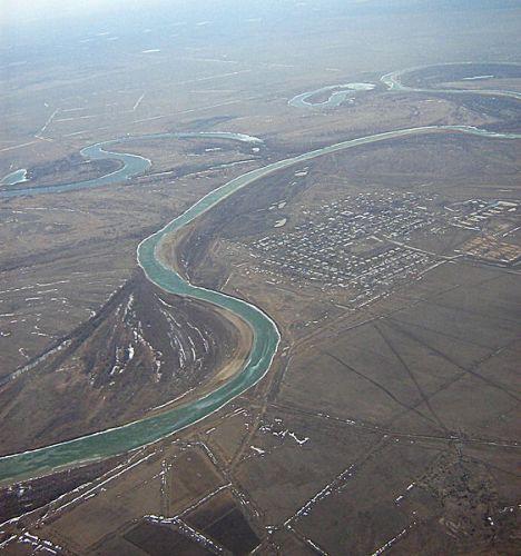 Ural River Eastern Europe