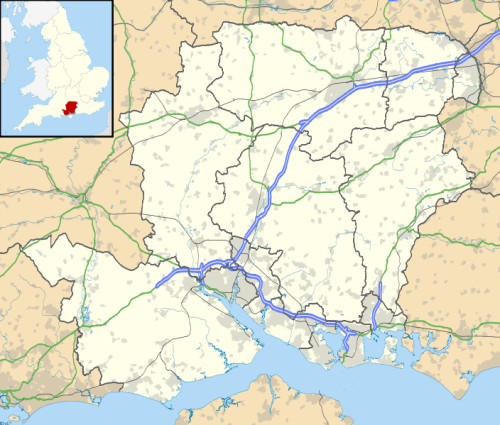 Eastleigh Map