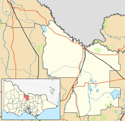 Echuca Map