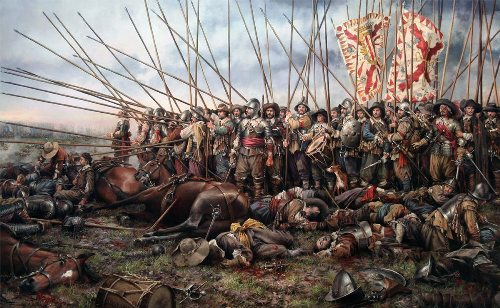 the Battle of Edgehill Pic