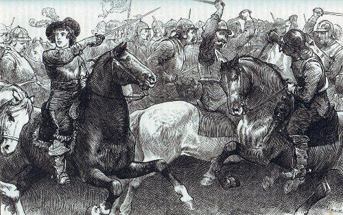 the Battle of Edgehill facts