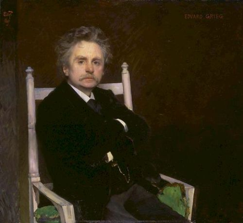 Edvard Grieg 1891