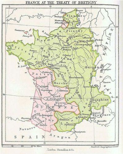 Edward III Map