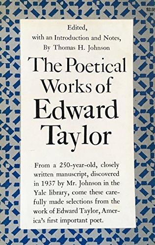 Edward Taylor Facts