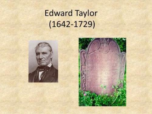Edward Taylor Image