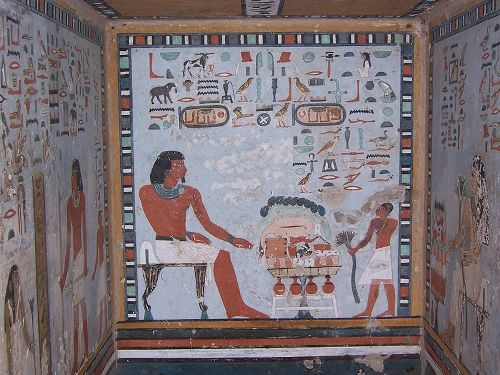 Facts about Egyptian Paintings