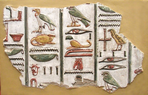 Facts about Egyptian Writing