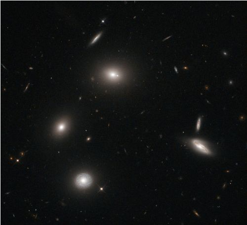 Elliptical Galaxies Image